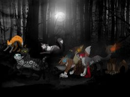 Dark forest fun by meeshmoose