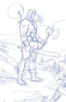 Conan Sketch by fernandomerlo