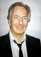 Alan Rickman portrait by Avantalia