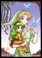 Link and Alora by iverie