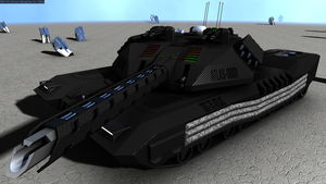 TBT-75 ATLAS Main Battle Tank Render 17 by doug7070