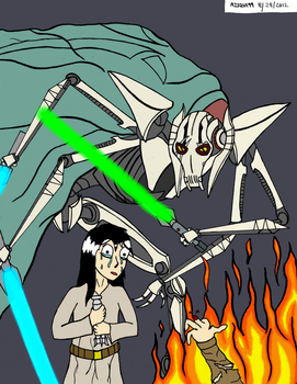 Don't be stupid little padawan - Colored by KerfuffleMach2
