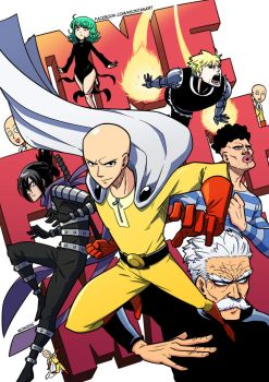 One punch man by After9