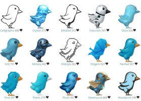 The Amazing Twitter Birds by FreeIconsFinder