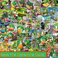 Bean the Dynamite Duck by PrincessEmerald7