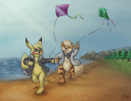 GA: Let's go fly a Kite! by the-b3ing