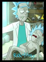 Old Rick and Tiny Rick by SuperEvilMan