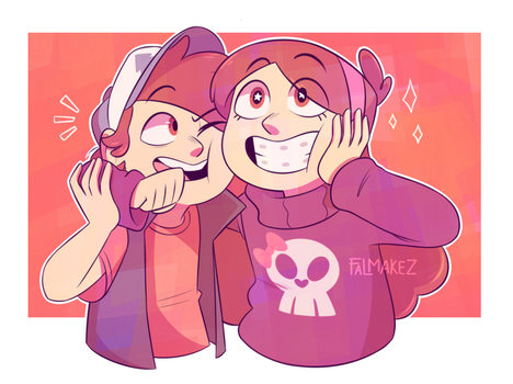 TWINSSS by FALMAKEZ-ART