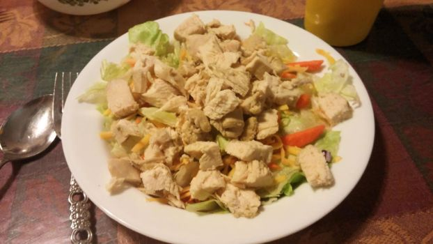 Poached Chicken Salad by BigMac1212