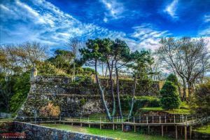 HDR Castle of Santa Cruz by raphaello1984