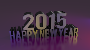 Happy 2015 by fractalyst