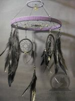 Solar System Dream Catcher '4'(Hand Made) by TheInnerCat