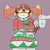 Christmas Sweater by Domobot