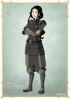 Lin Beifong - Young by Capsidia-Here
