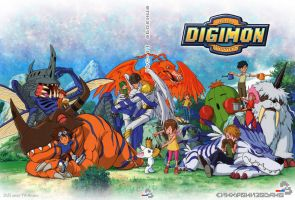 Digimoni DVD cover SRB by FIKAndzo