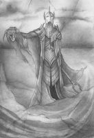 Monochrome II- Sauron by joshification