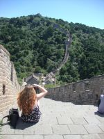 Enjoying the view by Laura-in-china