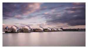 Thames Barrier by Bartekkw