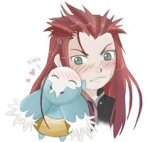 Asch is Gettin' Cheagle'd by -babykefka-