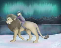 The Lion Rider by lion-rider