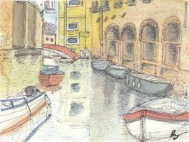 Venice: A Watercolour by imfromdunman