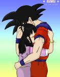 Don't leave me again - Goku and Chichi by eleneli