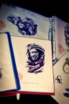 Some tattoo drawings by AndreiPavel