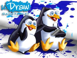 uDraw Penguins of Madagascar by UncleLaurence
