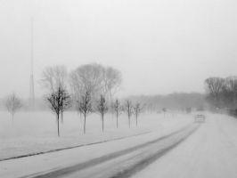 drive in snow by crazytmac