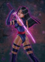 Psylocke Sword by SChappell