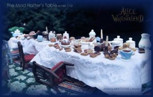 The Mad Hatter's Table 1:12 by Jeyam-PClay