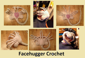 Facehugger Crochet by Mr-Nova