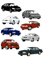 - Car Collage - by toonartt