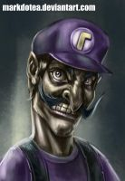 Its me WALUIGI sketch by Markdotea