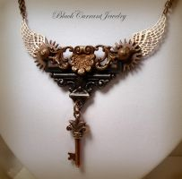 Steampunk in Copper by blackcurrantjewelry