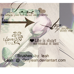 TextBrushes by OnlyLeah