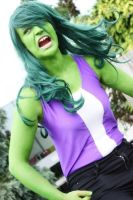 AyaCon 2013 - Marvel | She-Hulk by FifiMcFu