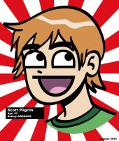 Scott Pilgrim is Awesome by kennydalman