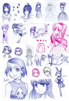 sketch ATTACK by ghostgirlcolombian