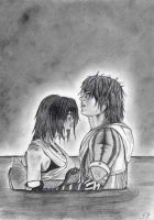 Tidus And Yuna by emicathe