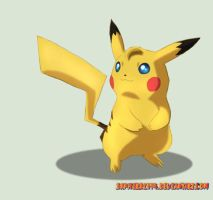 Blue-Eyed Pikachu (ANIMATION) by Sapphiresenthiss