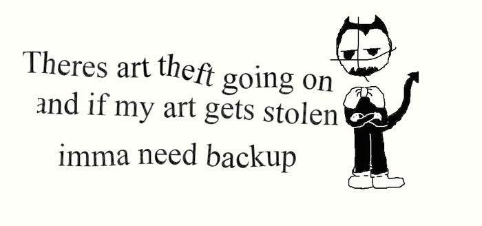 Art Theft by SpringTrapGurl4Life