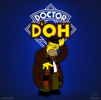 Doctor D'oh by maiconmcn