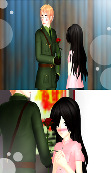MMD A rose for you!! by keilysuzuki