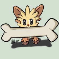 Day 70 - Cute Lilipup by LinkSketchit