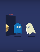 Ghost vs Ghost by nirman