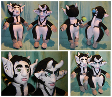 Commission: Samson and Gideon Plushies by S2Plushies