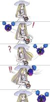 Lillie and Nebby comic by Jeffanime