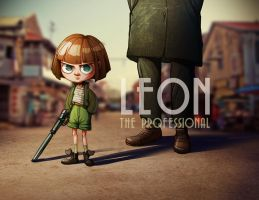 LEON the professional illustration by room4shoes