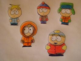 South Park practice by AgentKulu